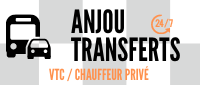 VTC : Chauffeur privé sur Angers, Nantes, Rennes & navette aeroport Nantes, Aeroport angers